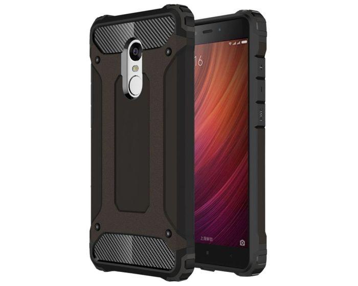 Forcell Hybrid Tech Armor Case Ανθεκτική Θήκη - Μαύρη (Xiaomi Redmi Note 4 / 4X)