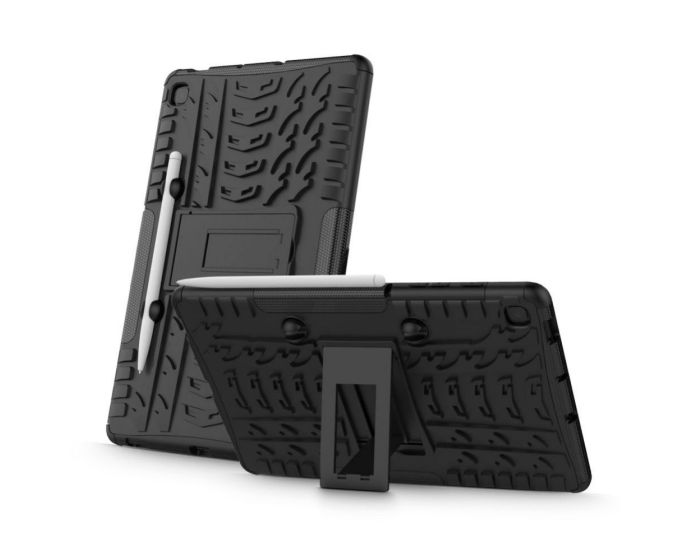 TECH-PROTECT Armorlok Ανθεκτική Θήκη με stand Μαύρη (Samsung Galaxy Tab S6 Lite 10.4)