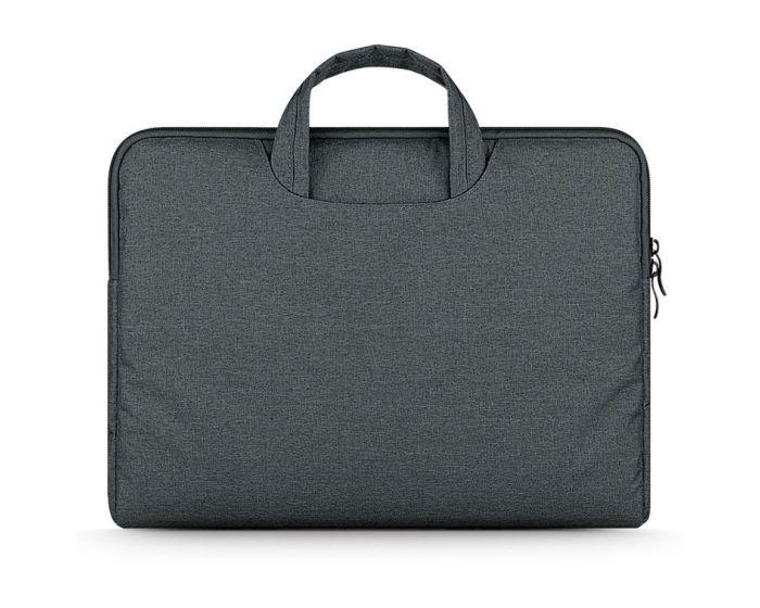 TECH-PROTECT Briefcase Θήκη Τσάντα για MacBook / Laptop 13'' - 14'' Dark Grey