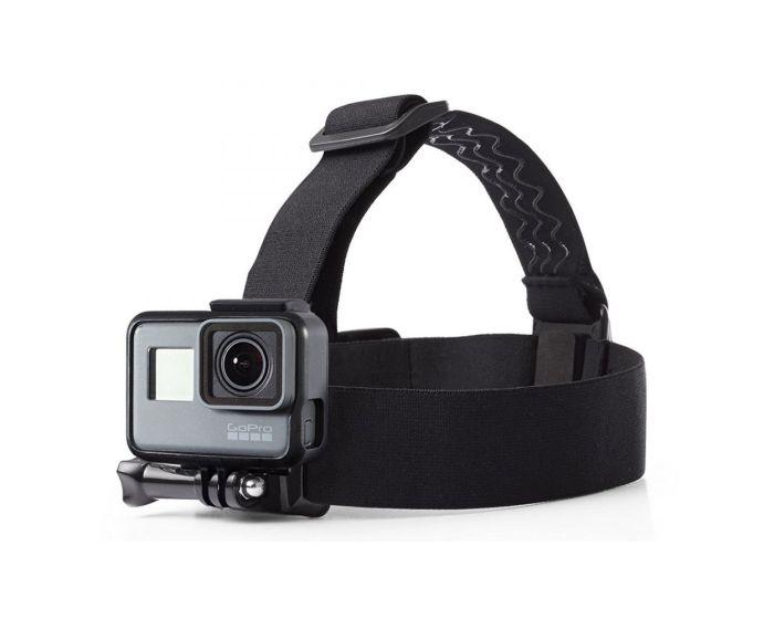 TECH-PROTECT GoPro Headstrap Ιμάντας Κεφαλής για Action Camera GoPro - Black