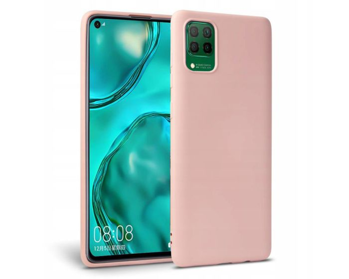 TECH-PROTECT Icon Soft Touch Silicone Case Pink (Huawei P40 Lite)