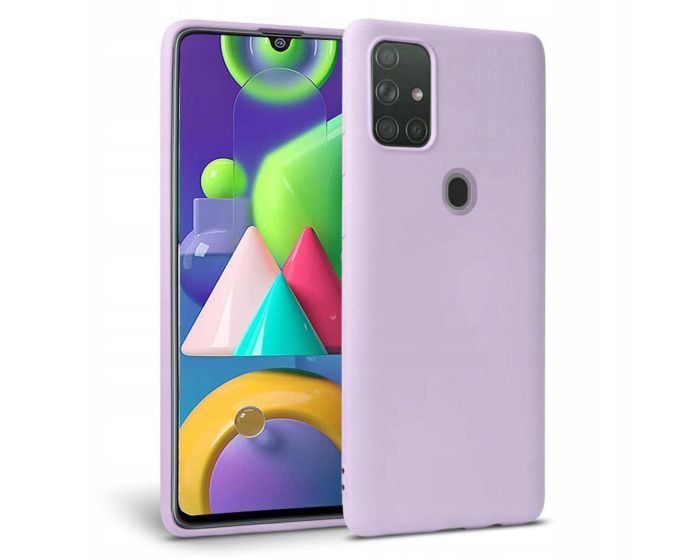 TECH-PROTECT Icon Soft Touch Silicone Case Violet (Samsung Galaxy M21 / M30s)