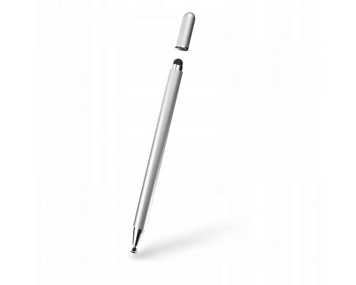 TECH-PROTECT Magnet Stylus Pen Γραφίδα για Tablet / Smartphone - Ασημί
