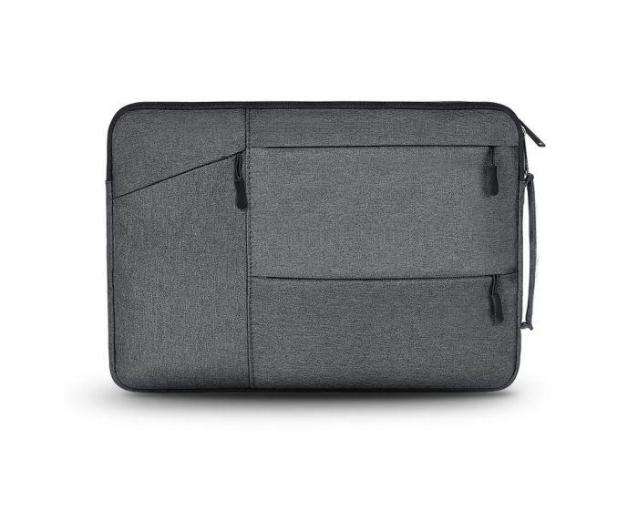 TECH-PROTECT Pocket Case Θήκη Τσάντα για MacBook / Laptop 14'' Dark Grey