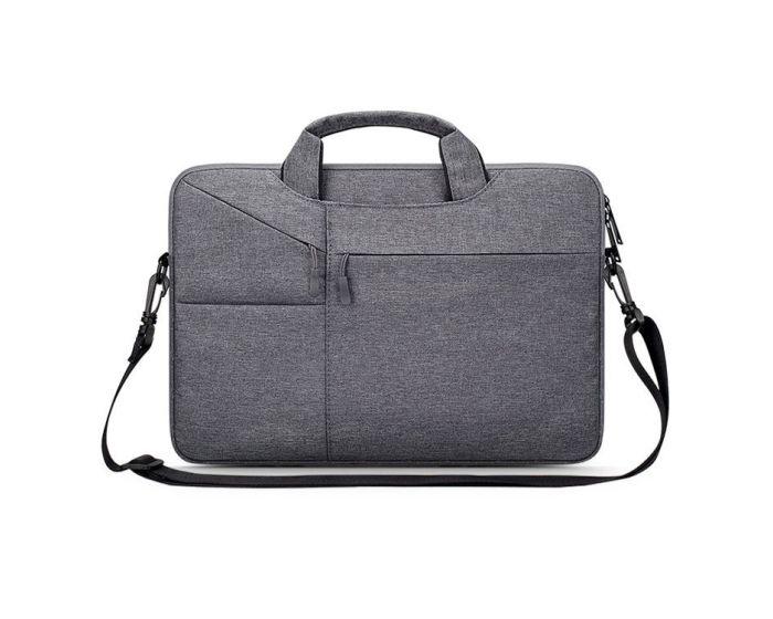 TECH-PROTECT Pocketbag Θήκη Τσάντα για MacBook / Laptop 14'' Dark Grey