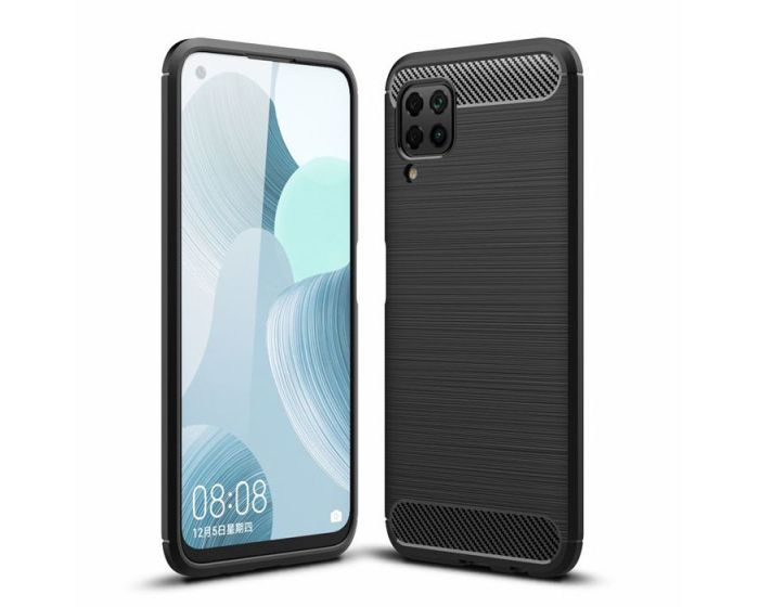 TECH-PROTECT Carbon Rugged Armor Case - Black (Huawei P40 Lite)