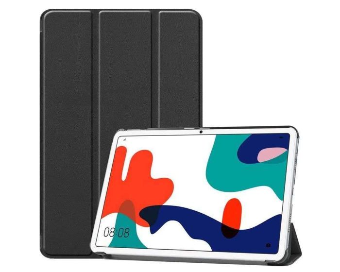 TECH-PROTECT Slim Smart Cover Case με δυνατότητα Stand - Black (Huawei MatePad 10.4)