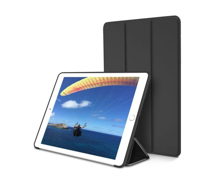 TECH-PROTECT Slim Smart Cover Case με δυνατότητα Stand - Black (iPad 2 / 3 / 4)