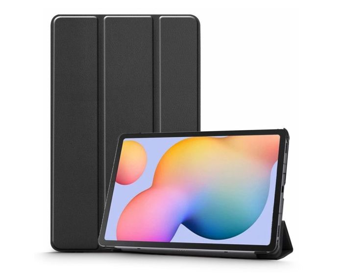 TECH-PROTECT Slim Smart Cover Case με δυνατότητα Stand - Black (Samsung Galaxy Tab S6 Lite 10.4)