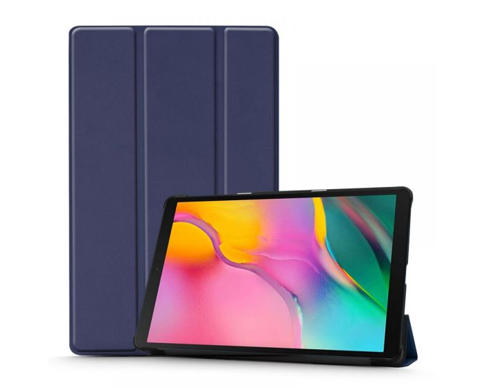 TECH-PROTECT Slim Smart Cover Case με δυνατότητα Stand - Navy Blue (Samsung Galaxy Tab A 10.1 2019 - T510 / T515)