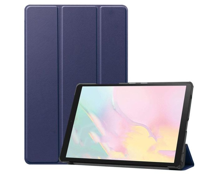 TECH-PROTECT Slim Smart Cover Case με δυνατότητα Stand - Navy Blue (Samsung Galaxy Tab A7 10.4)