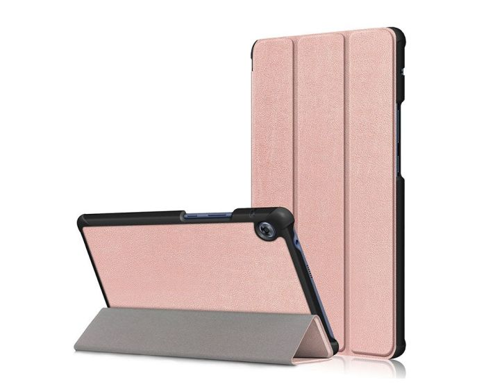 TECH-PROTECT Slim Smart Cover Case με δυνατότητα Stand - Rose Gold (Huawei MatePad T8 8.0)