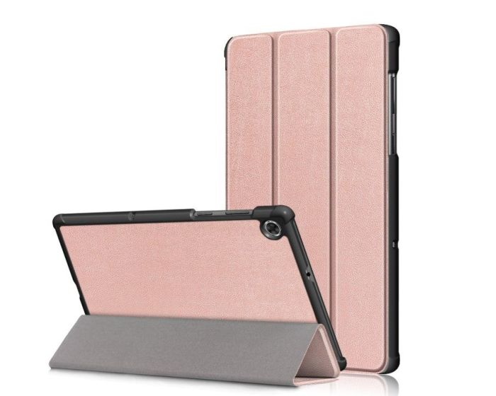 TECH-PROTECT Slim Smart Cover Case με δυνατότητα Stand - Rose Gold (Lenovo Tab M10 Plus 10.3)