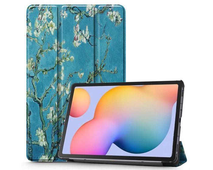TECH-PROTECT Slim Smart Cover Case με δυνατότητα Stand - Sakura (Samsung Galaxy Tab S6 Lite 10.4)