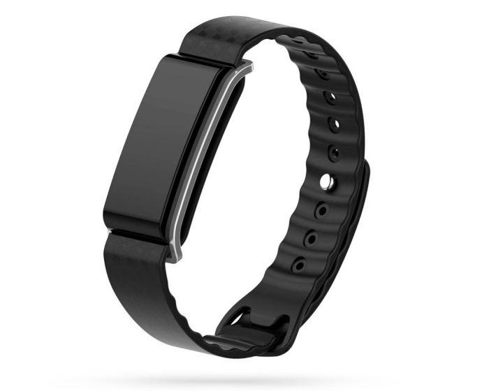 TECH-PROTECT Smoothband - Black - Λουράκι Σιλικόνης για Huawei Band A2