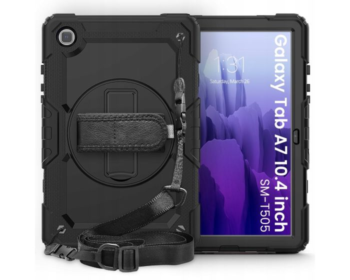 TECH-PROTECT Solid 360 Full Cover Case Black (Samsung Galaxy Tab A7 10.4)