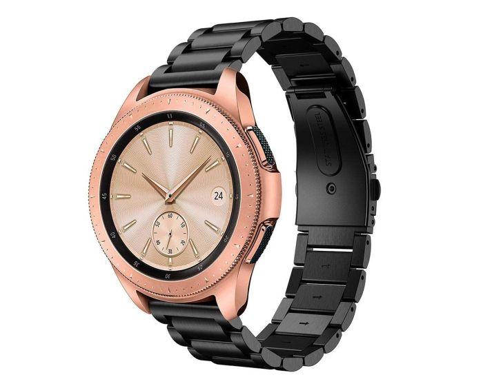 TECH-PROTECT Stainless Steel Watch Bracelet Black για Samsung Galaxy Watch 42mm