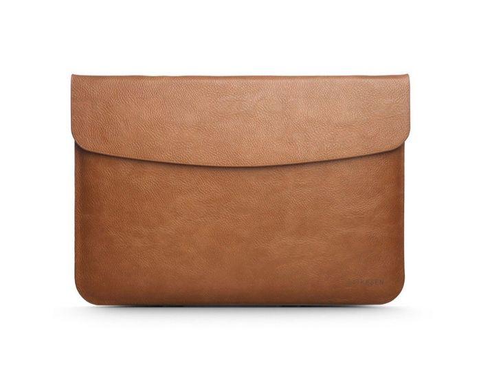 TECH-PROTECT Taikesen Case Θήκη Τσάντα για MacBook / Laptop 13'' - 14'' Light Brown