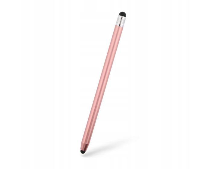 TECH-PROTECT Touch Stylus Pen Γραφίδα για Tablet / Smartphone - Ροζ Χρυσό