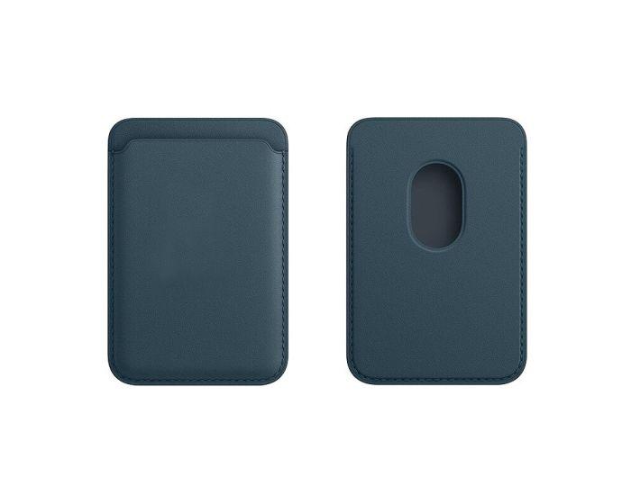 Tel Protect MagPocket Μαγνητική Θήκη Κάρτας για iPhone 12 Series - Navy Blue