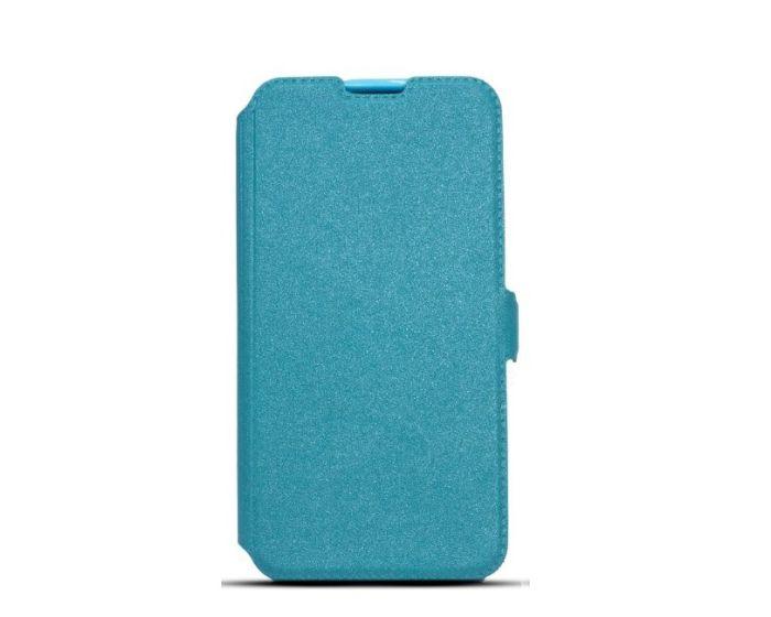 Tel1 Book Pocket Stand Case Θήκη Πορτοφόλι Blue (Samsung Galaxy J2)