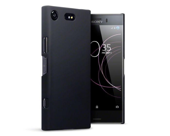 Terrapin Θήκη Καουτσούκ Extra Slim Fit (151-005-127) Μαύρο (Sony Xperia XZ1 Compact)