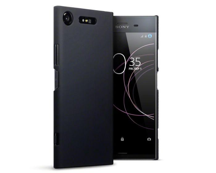 Terrapin Θήκη Καουτσούκ Extra Slim Fit (151-005-126) Μαύρο (Sony Xperia XZ1)