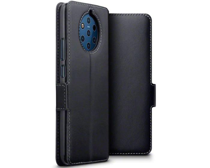 Terrapin Low Profile Δερμάτινη Θήκη - Πορτοφόλι Wallet Case (117-001-319) Μαύρο (Nokia 9 PureView)