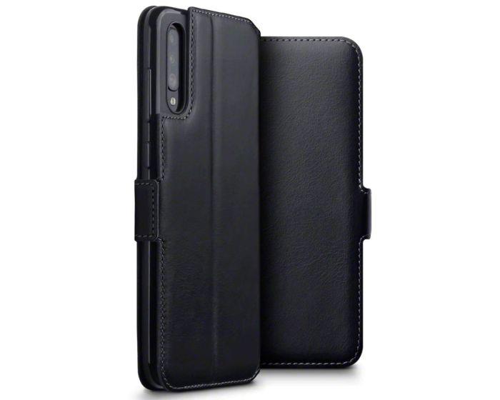 Terrapin Low Profile Δερμάτινη Θήκη - Πορτοφόλι Wallet Case (117-002a-151) Μαύρο (Samsung Galaxy A70)