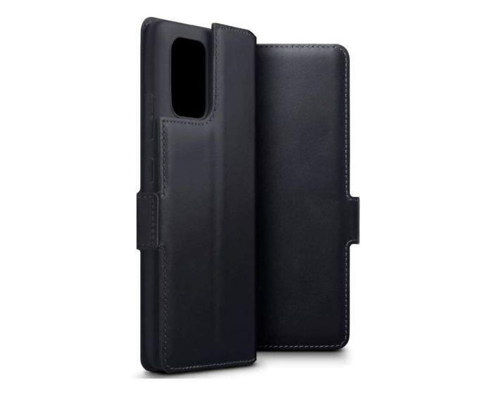 Terrapin Low Profile Δερμάτινη Θήκη - Πορτοφόλι Wallet Case (117-002a-256) Μαύρο (Samsung Galaxy S10 Lite)
