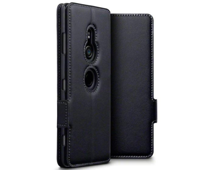 Terrapin Low Profile Δερμάτινη Θήκη - Πορτοφόλι Wallet Case (117-005-638) Black (Sony Xperia XZ3)