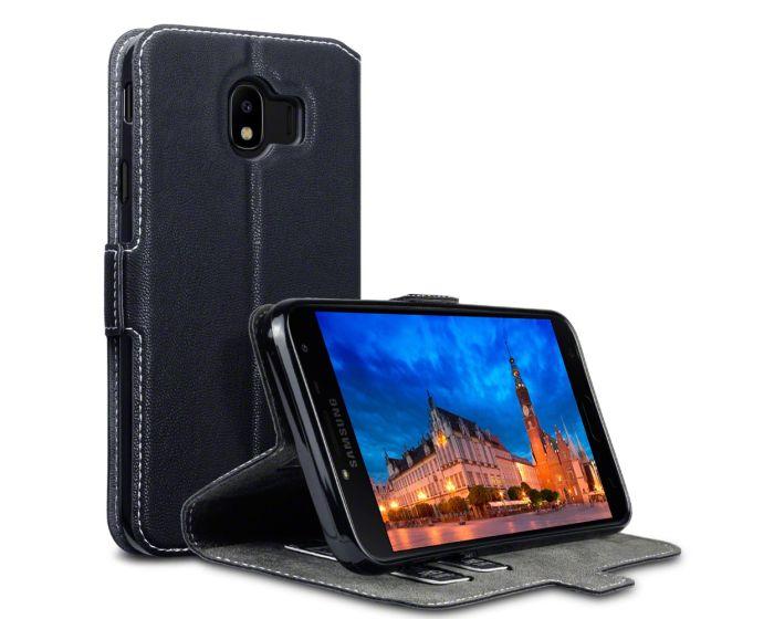 Terrapin Θήκη Low Profile Thin - Πορτοφόλι (117-002a-076) Μαύρο (Samsung Galaxy J4 2018)