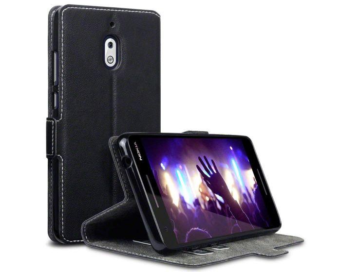 Terrapin Θήκη Low Profile Thin - Πορτοφόλι (117-001-300) Μαύρο (Nokia 2.1 2018)