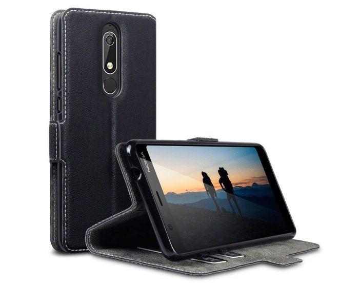 Terrapin Θήκη Low Profile Thin - Πορτοφόλι (117-001-294) Μαύρο (Nokia 5.1 2018)