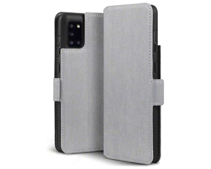 Terrapin Θήκη Low Profile Thin - Πορτοφόλι (117-002a-315) Γκρι (Samsung Galaxy A31)