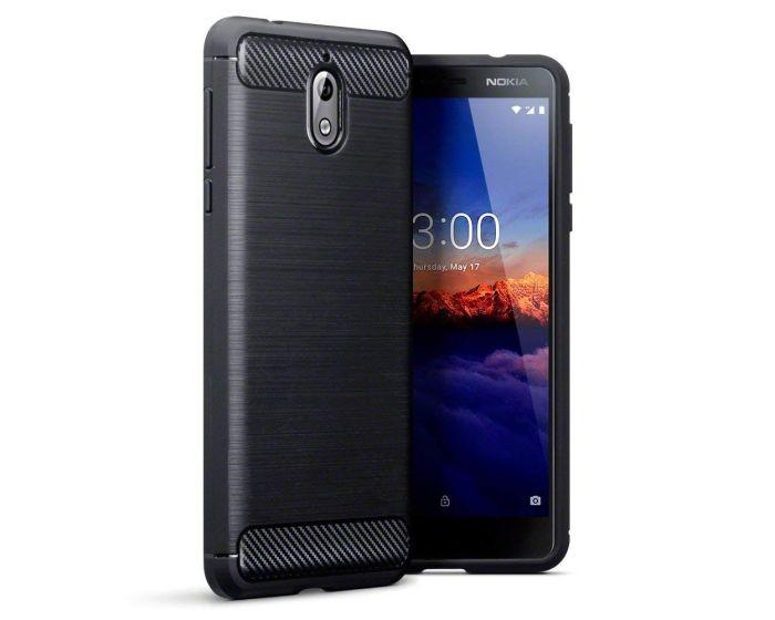 Terrapin Carbon Rugged Armor Case (118-001-264) Black (Nokia 3.1 2018)