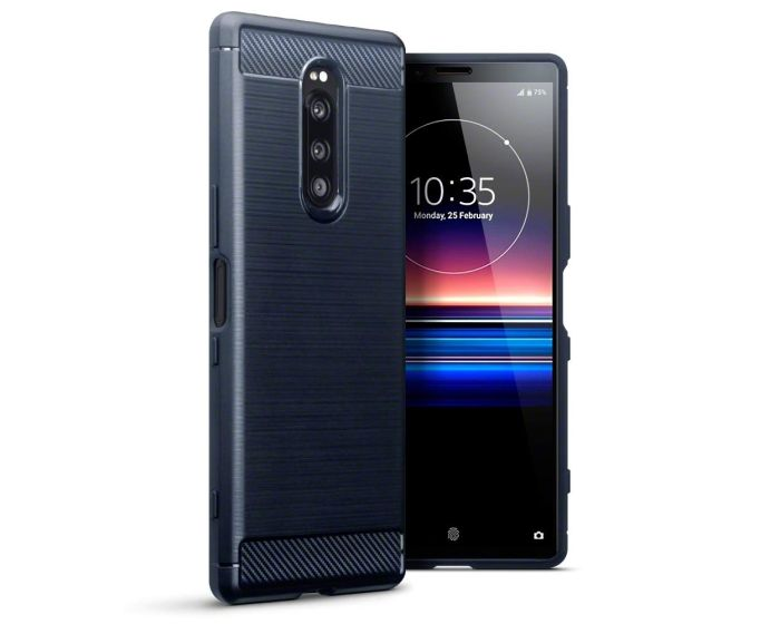Terrapin Carbon Rugged Armor Case (118-005-502) Blue (Sony Xperia 1)