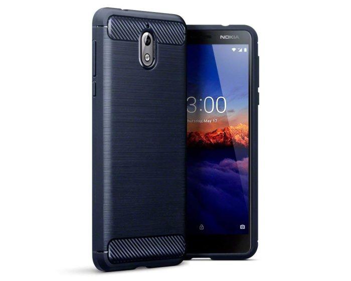 Terrapin Carbon Rugged Armor Case (118-001-265) Dark Blue (Nokia 3.1 2018)