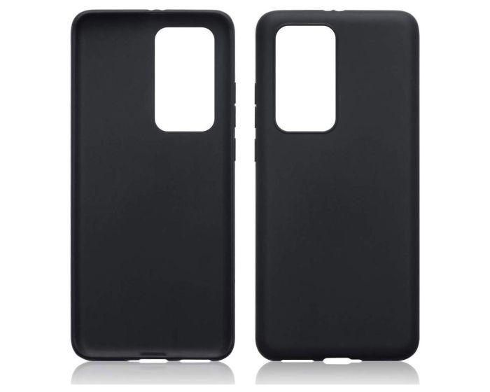 Terrapin Θήκη Σιλικόνης Slim Fit Silicone Case (118-083-221) Black Matte (Huawei P40 Pro)