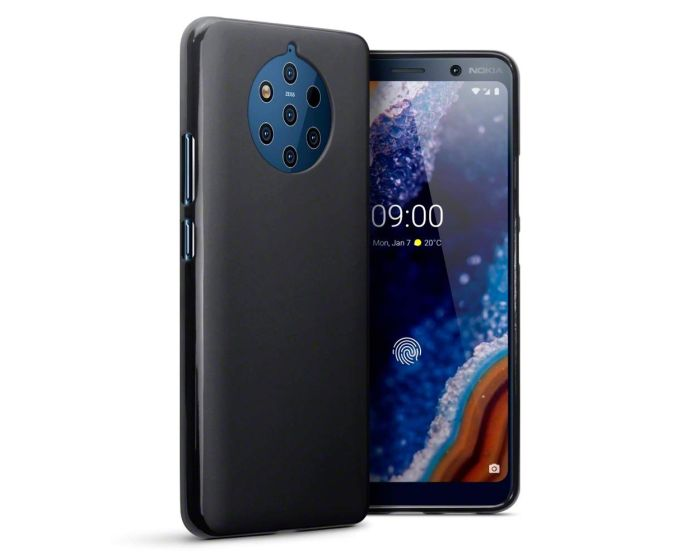 Terrapin Θήκη Σιλικόνης Slim Fit Silicone Case (118-001-293) Black Matte (Nokia 9 PureView)