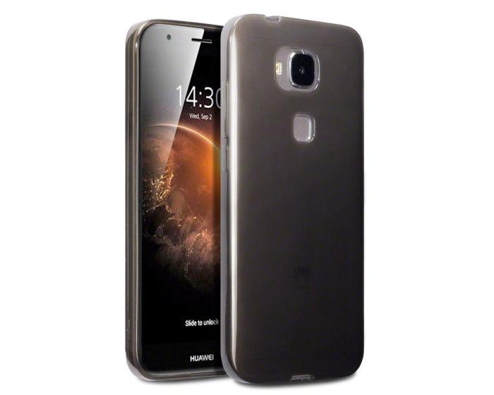 Terrapin Θήκη Σιλικόνης Slim Fit Silicone Case (118-083-016) Ημιδιάφανη Μαύρη (Huawei Ascend G8)