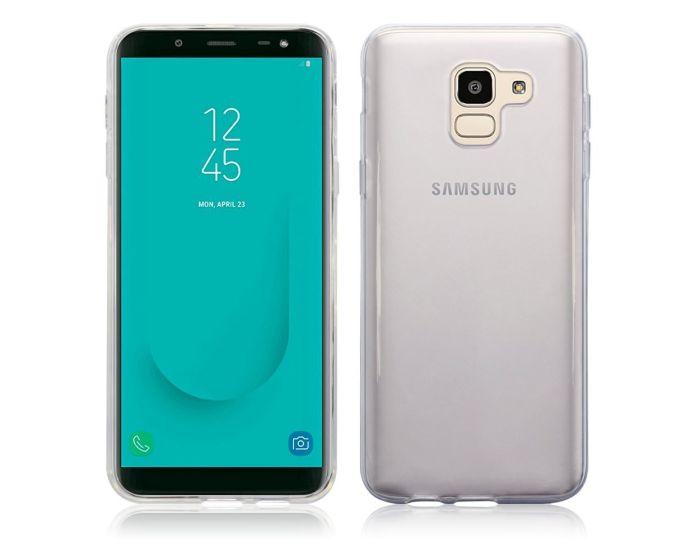 Terrapin Θήκη Σιλικόνης Slim Fit Silicone Case (118-002-704) Διάφανη (Samsung Galaxy J6 2018)