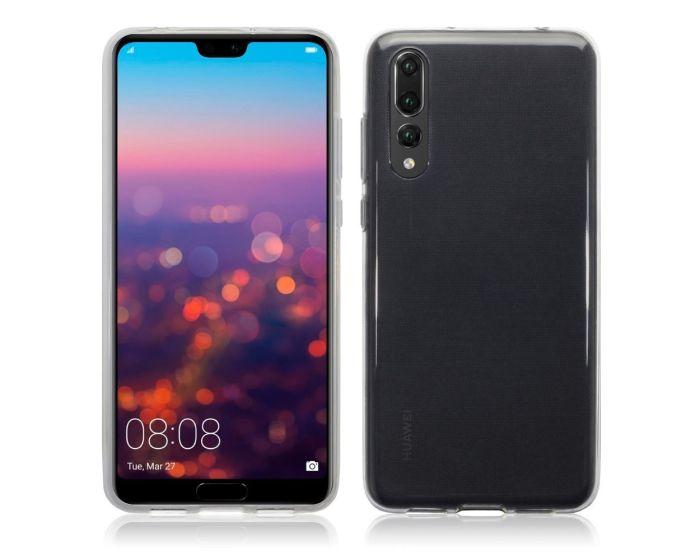 Terrapin Θήκη Σιλικόνης Slim Fit Silicone Case (118-083-156) Διάφανη (Huawei P20 Pro)