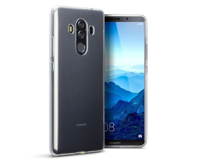 Terrapin Θήκη Σιλικόνης Slim Fit Silicone Case (118-083-143) Clear (Huawei Mate 10 Pro)