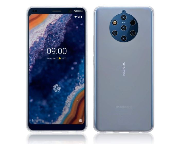 Terrapin Θήκη Σιλικόνης Slim Fit Silicone Case (118-001-292) Clear (Nokia 9 PureView)