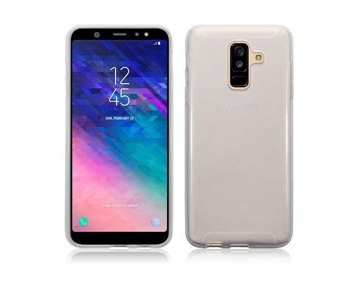 Terrapin Θήκη Σιλικόνης Slim Fit Silicone Case (118-002-696) Διάφανη (Samsung Galaxy A6 Plus 2018)