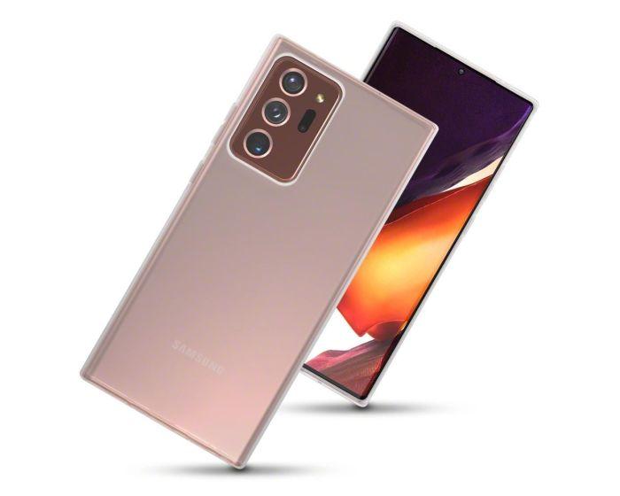 Terrapin Θήκη Σιλικόνης Slim Fit Silicone Case (118-002-858) Clear (Samsung Galaxy Note 20 Ultra)