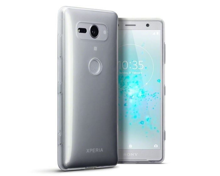 Terrapin Θήκη Σιλικόνης Slim Fit Silicone Case (118-005-464) Clear (Sony Xperia XZ2 Compact)
