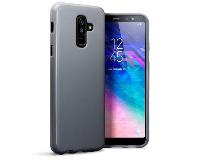 Terrapin Θήκη Σιλικόνης Slim Fit Silicone Case (118-002-701) Γκρι (Samsung Galaxy A6 Plus 2018)