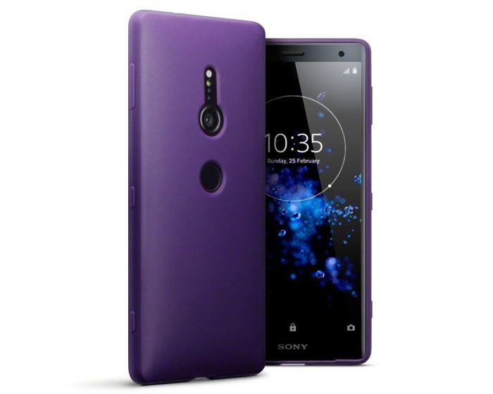 Terrapin Θήκη Σιλικόνης Slim Fit Silicone Case (118-005-458) Purple Matte (Sony Xperia XZ2)